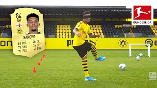 Jadon Sancho & Co. Showing Off Their REAL Skills - EA Sports FIFA 20 Rating Reveal