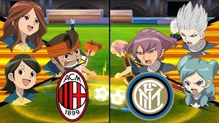 [Full HD 1080P] Inazuma Eleven Lega Serie A ~ AC Milan vs Inter Milan ※Pokemon Anchor※
