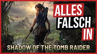 Alles falsch in Shadow of the Tomb Raider 🛎️ GameSünden [SATIRE]