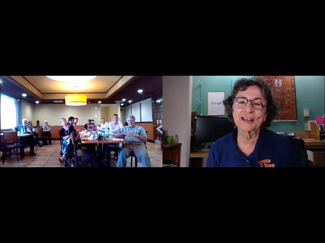 Tutorial Video for Toastmasters using Zoom in a blended meeting.