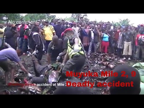 MUYUKA DEADLY ROAD ACCIDENT 19 August 2017