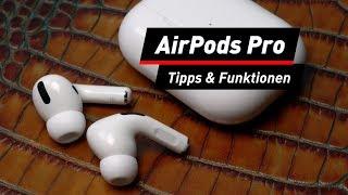 AirPods Pro: Die besten Tipps/Tricks und versteckte Funktionen | deutsch