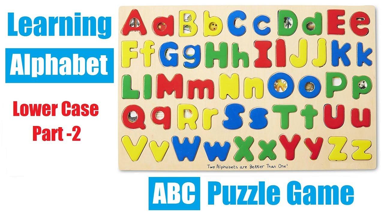 Learning Alphabets For Kids With Abc Matching Puzzle Game