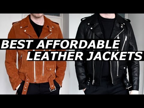 BEST AFFORDABLE LEATHER JACKET ? | High End Alternative, Budget | New Brand L.A.C | 2017 | Gallucks