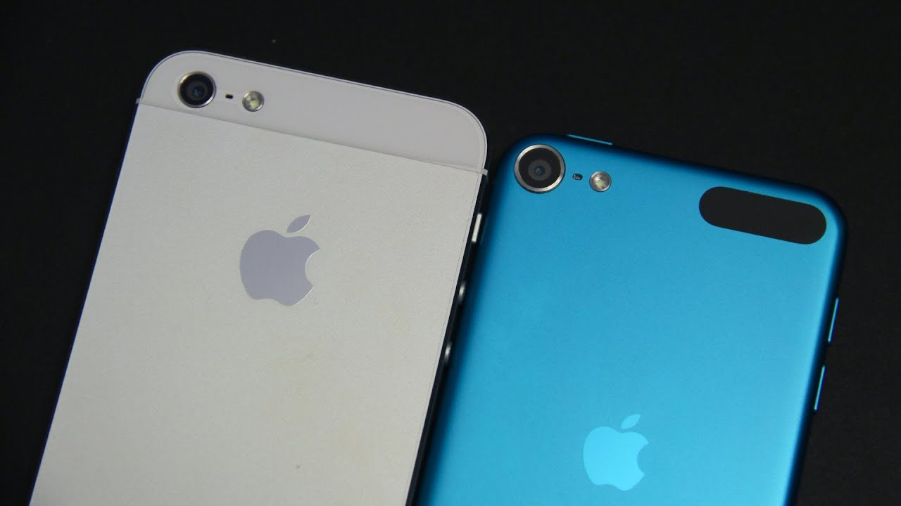 iPhone 5 vs iPod Touch 5G - Camera - YouTube