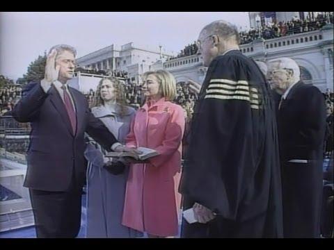 Jan. 20, 1997: Inaugural Ceremonies for Bill Clinton