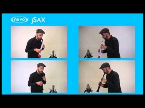 §唐川音樂§ 【英國 Nuvo J-Sax 最容易上手的薩克斯風套裝組(含直管套件)】JSax 塑膠薩克斯風