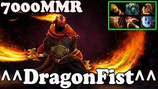 Dota 2 - ^^DragonFist^^ 7000 MMR Plays Ember Spirit - Pub Match Gameplay