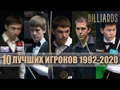 """10 самых титулованных игроков """"Русского бильярда"""" / мужчины. Тор 10 players. Billiards."""