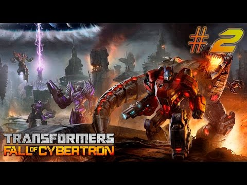 Transformers Fall of Cybertron [Walkthrough] PART 2