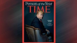 Trump fills Cabinet as he is named TIME's Person of the Year