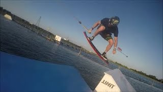Crazy Wakeboard and Wakeskate Action!!!/ Wakepark Wednesday #20