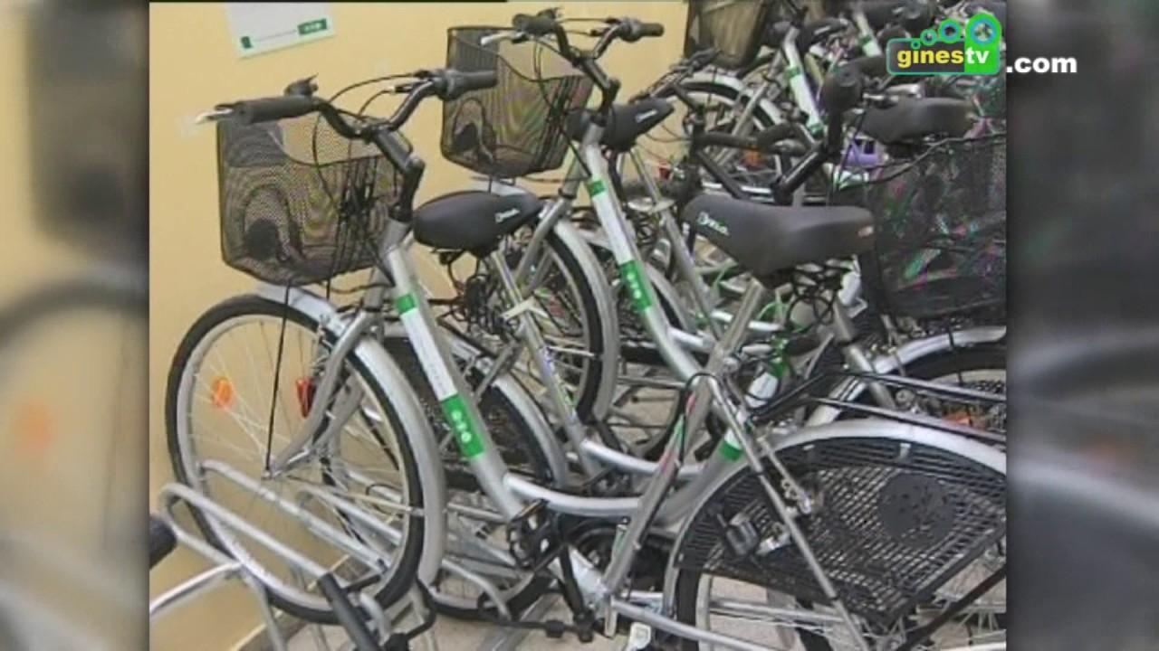 Gines volvió a ser en 2016 el municipio con más usuarios del servicio gratuito Bus+Bici