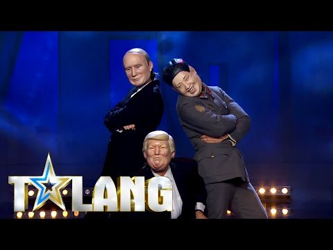 World Leaders - Donald Trump, Valdimir Putin och Kim Jong-Un tar världen med storm i Talang