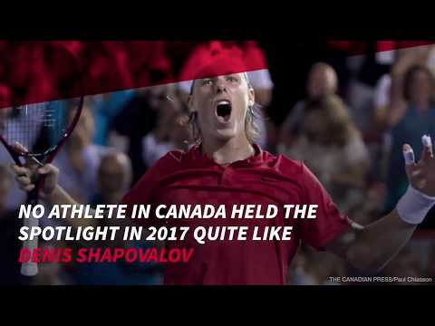 Denis Shapovalov named Canadian Press male athlete of the year