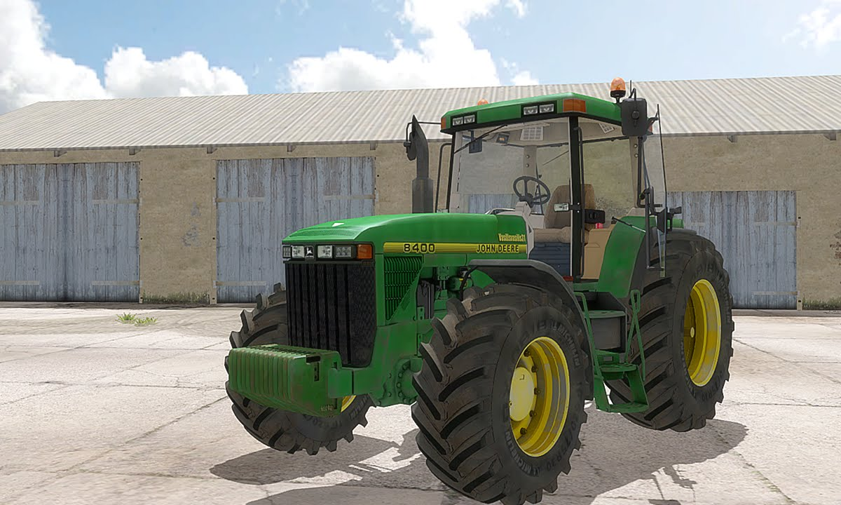 Farming Simulator 2013 John Deere 8400 By Vasilisvasilis31