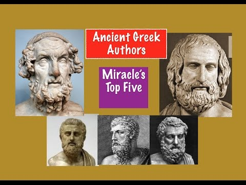 Miracle's Top Five : Ancient Greek Authors