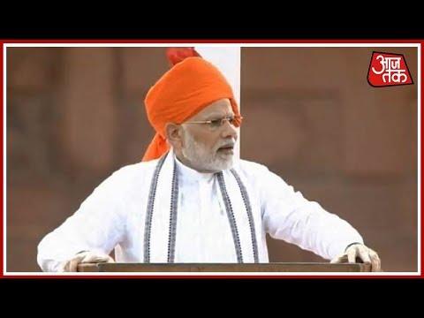 क्या लाल किले से PM Modi ने चुनावी भाषण दिया? देखिए दंगल Rohit Sardana के साथ