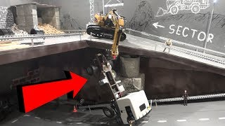 Упал Грузовик ... Спасательная Операция ... Save The Fallen Rc Truck
