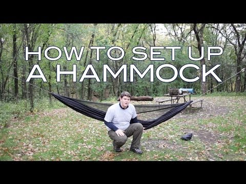how to set up a camping hammock how to set up a camping hammock   youtube  rh   youtube