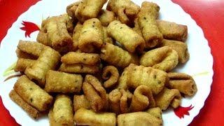 মুচমুচে খাস্তা সুজির নিমকি//Sujir Nimki//Bengali Snacks//Nimki Recipe In Bengali: