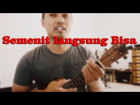 Belajar Main Ukulele: 60 Detik Bisa Satu Lagu | Pelajaran Untuk Pemula