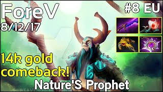 Support ForeV Nature#39S Prophet - Dota 2 7.17