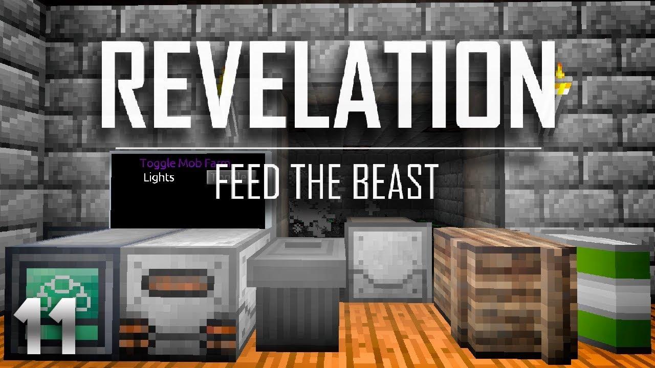 FTB Revelation EP11 Xnet Mob Farm