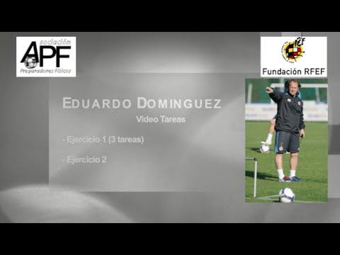 Calentamiento de Eduardo Dominguez - Ejercicios