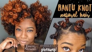 Video Defined Bantu Knot Out Breakdown | Short/Medium Natural Hair | + Every Strand TM (GIVEAWAY CLOSED) download MP3, 3GP, MP4, WEBM, AVI, FLV Juli 2018