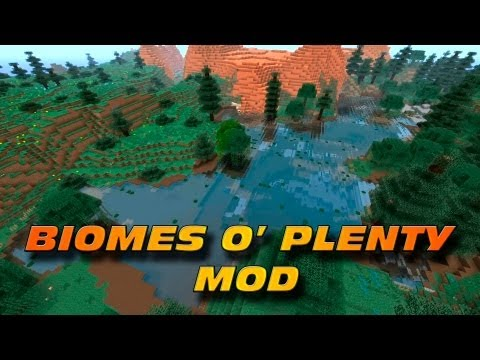 Minecraft: Biomes O' Plenty MOD - Biomas a Tutiplen! (Con Tutorial de Instalación)