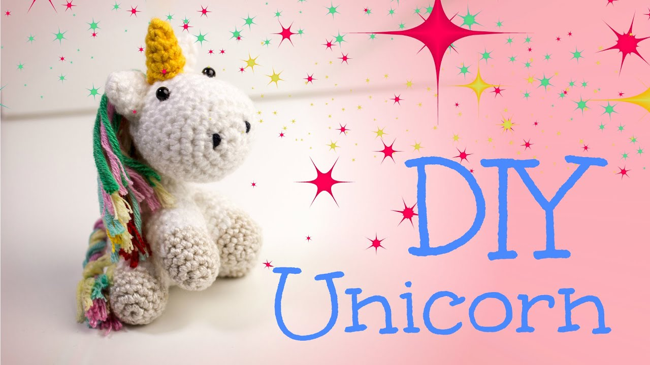 Einhorn · Häkelanleitung *Do it Yourself* | Amigurumi - YouTube