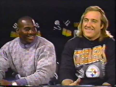 PITTSBURGH STEELERS LB LEGENDS GREG LLOYD AND KEVIN GREENE