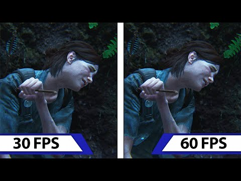The Last of Us: Part II | How would it look at 60 FPS? | Comparison
