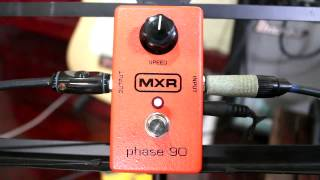 Review เอฟเฟค MXR phase 90 - hutty.weebly.com