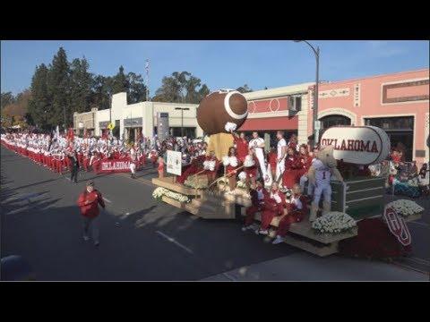 The Pride of Oklahoma Marching Band - 2018 Pasadena Rose Parade