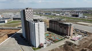 Макрорайон «АМГРАД» май 2021 г. строительство город Самара Russia