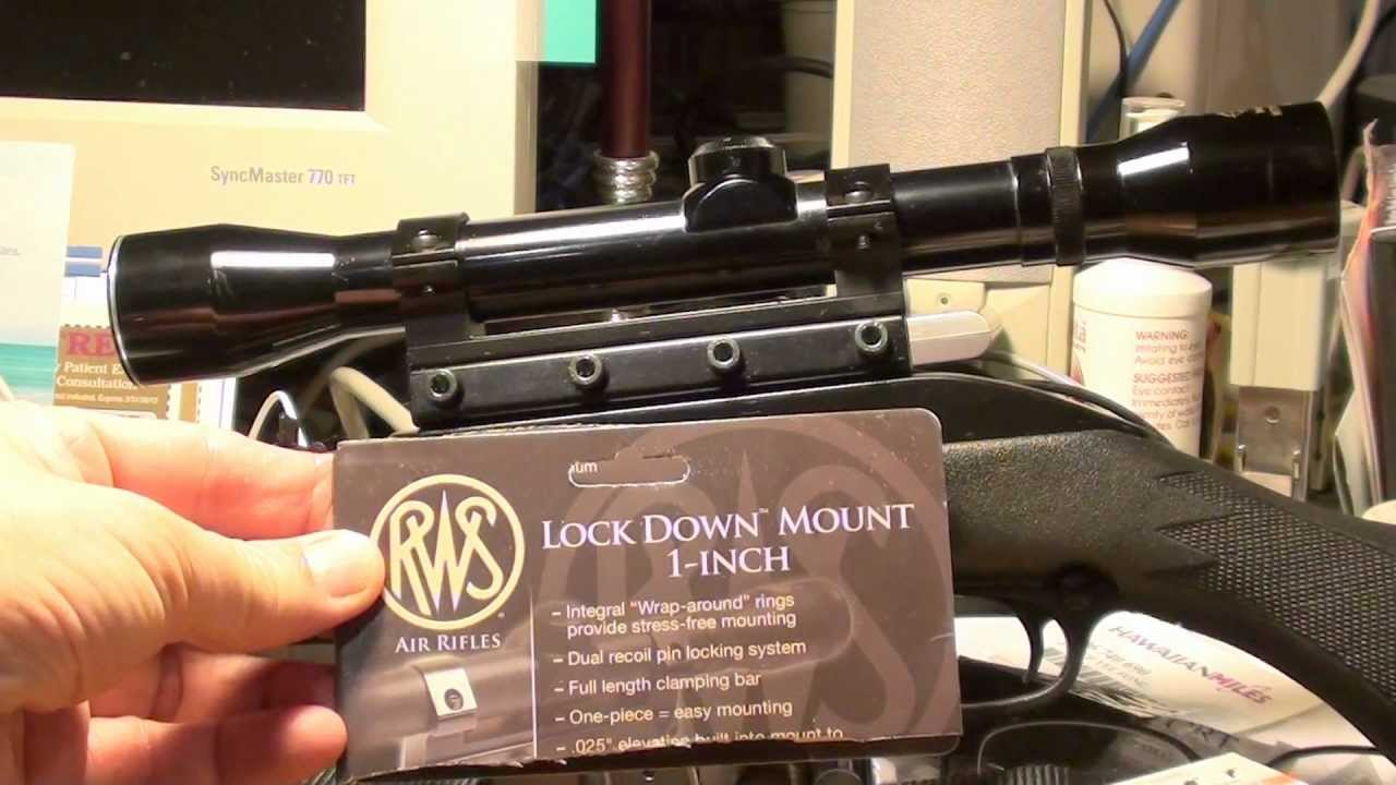 Rws Lock Down Scope Mount