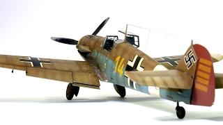 Messerschmitt Bf 109F-4 ، ادوارد 1:48 هانز-يواكيم مرسيليا خطوة بخطوة