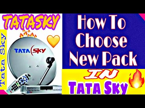 How To Select Channels In TATA SKY Mobile App Ll My Tata Sky App