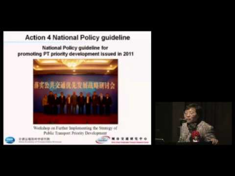 Yulin Jiang / Transportation Development Policy for Low-Carbon City in China