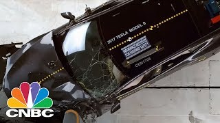 Tesla Under Pressure After IIHS Questions Model S Safety In New Crash Tests | CNBC