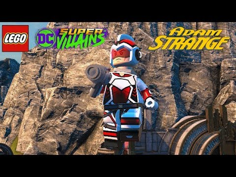 LEGO DC Super Villains Adam Strange Unlock + Free Roam Gameplay