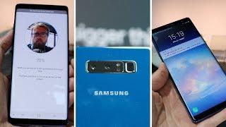 Anmeldelse og test af Samsung Galaxy Note 8 - første indtryk