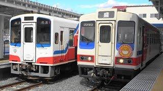 三陸鉄道リアス線全線開業 映像集 列車交換・切り離し作業 Sanriku Railway Rias Line Resumes Full Operation