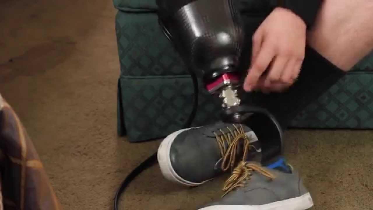 how to make homemade prosthetic leg