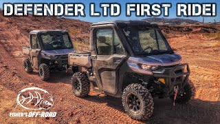 2020 Can-am Defender Limited with HVAC - FIRST RIDE!