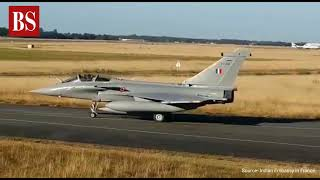 Watch: Five IAF Rafale jets take off for India from France