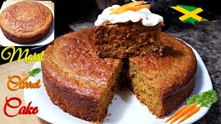 The Best Jamaican Carrot cake recipe: must try