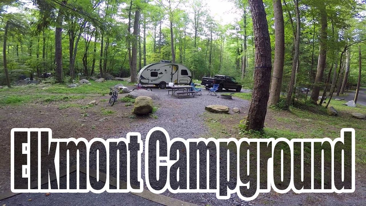 Elkmont Campground Great Smoky Mountains Site B15 and